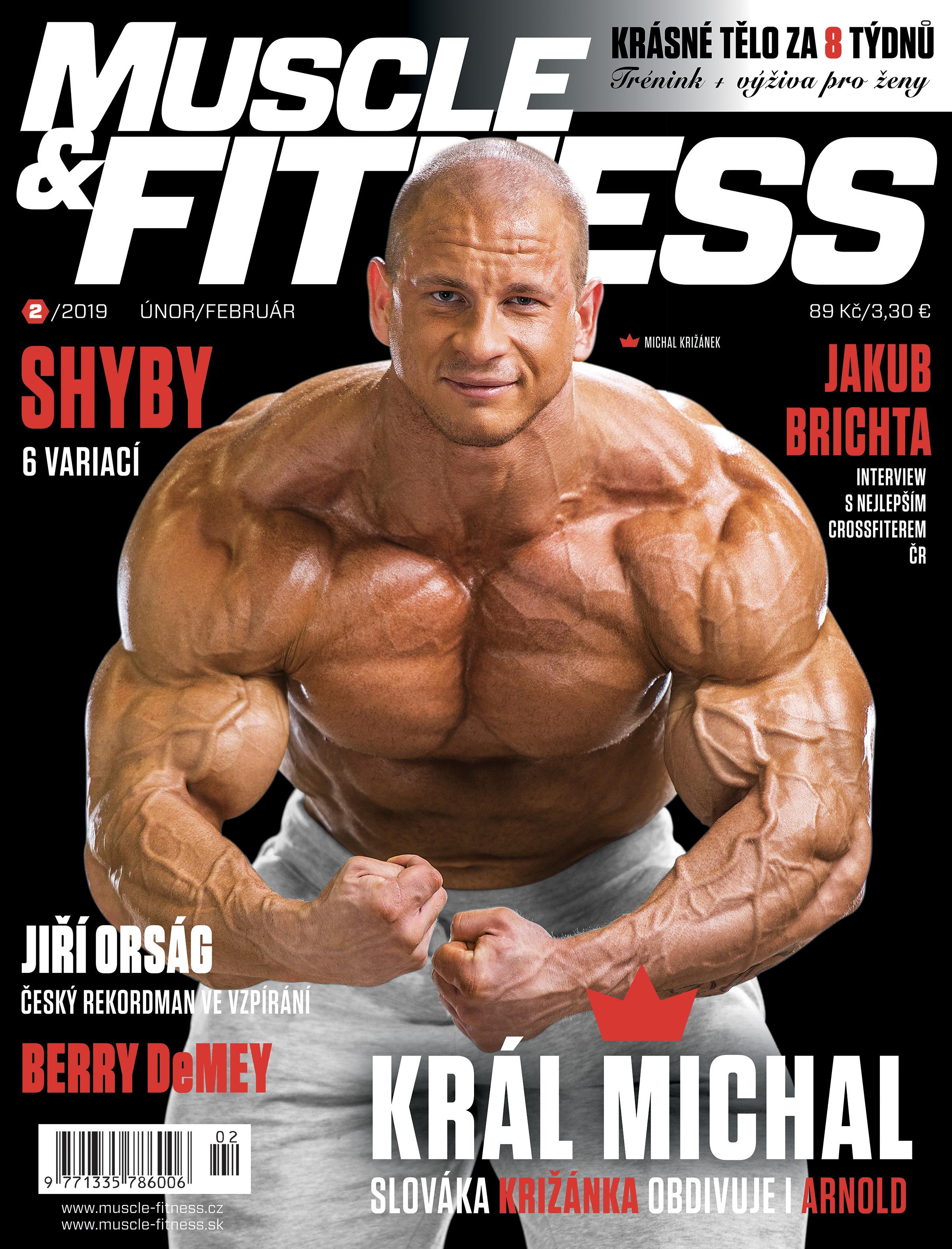 Michal Križánek MUSCLE&FITNESS
