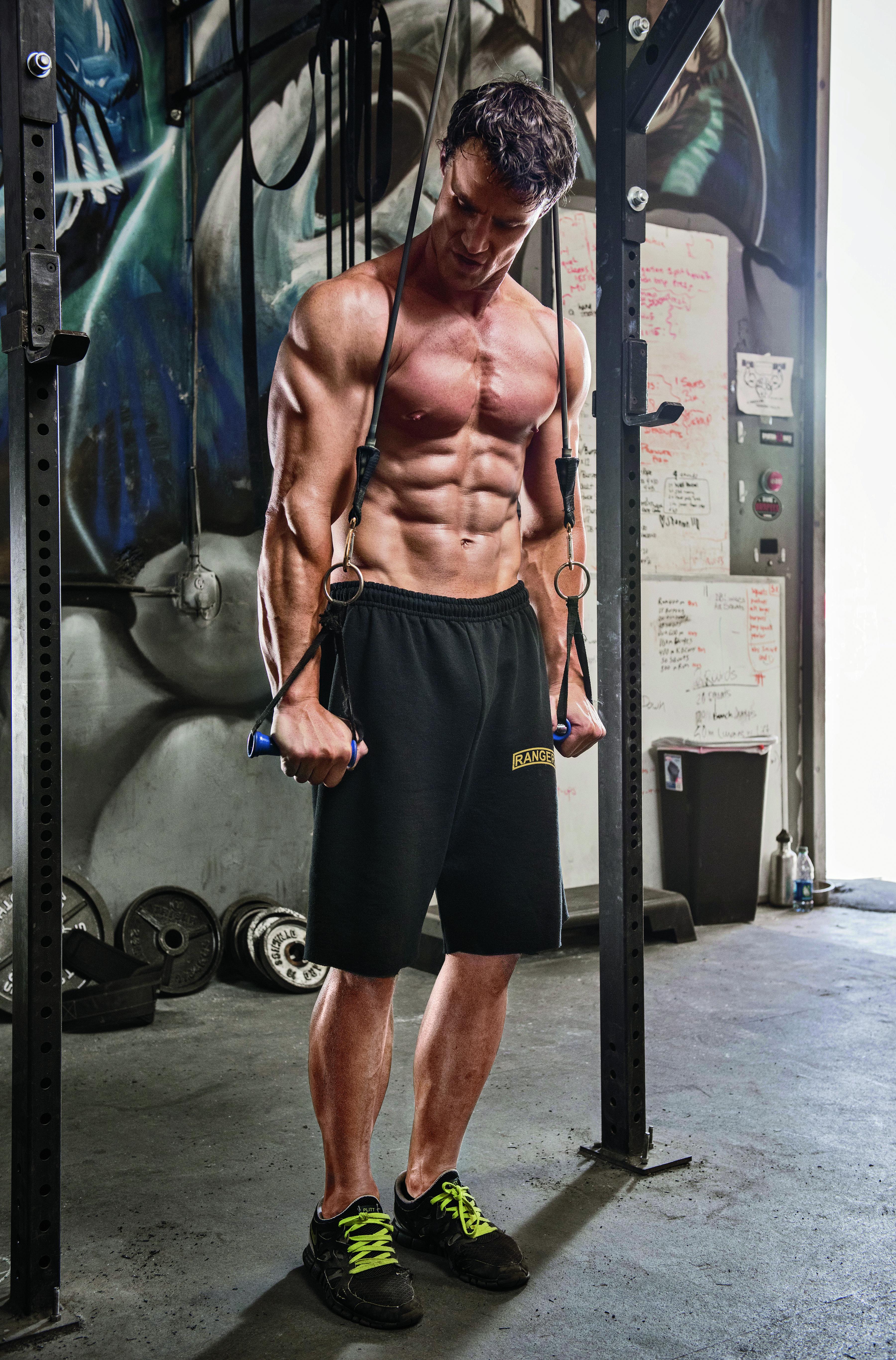 Tréning na triceps. Bomba.