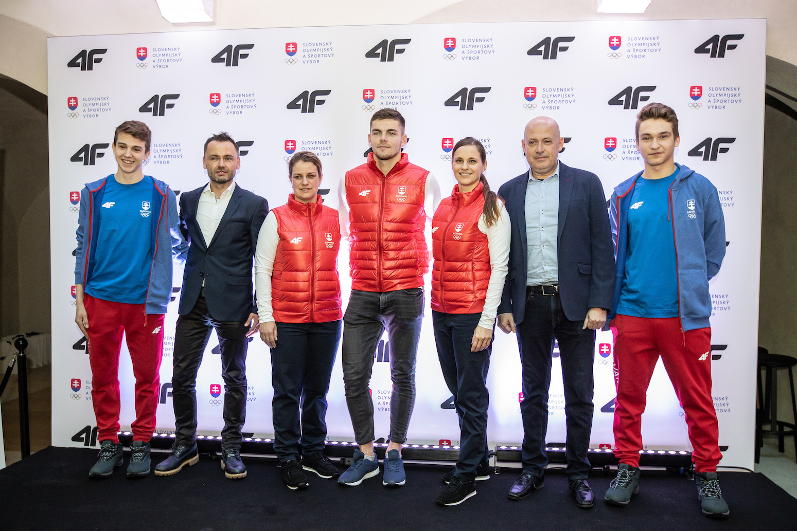 Fotografie športovcov a značky 4F