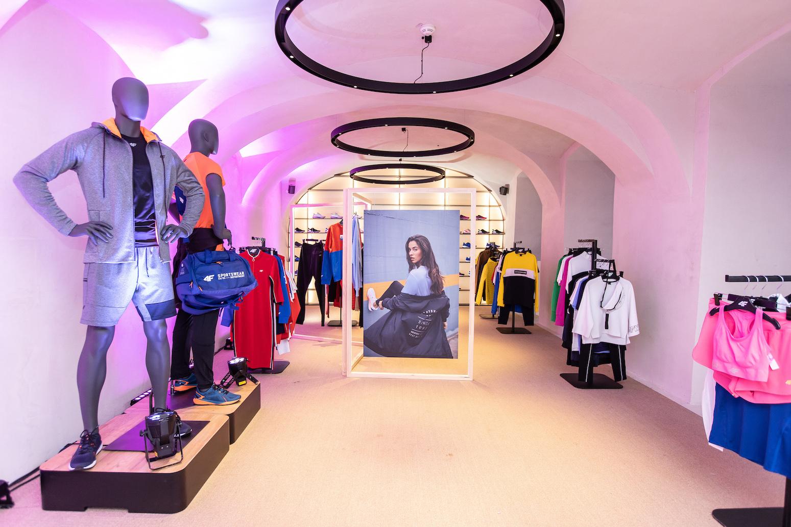 Exkluzívne predstavenie novej kolekcie športového oblečenia značky 4F pre sezónu jar-leto 2019 v Bratislave.