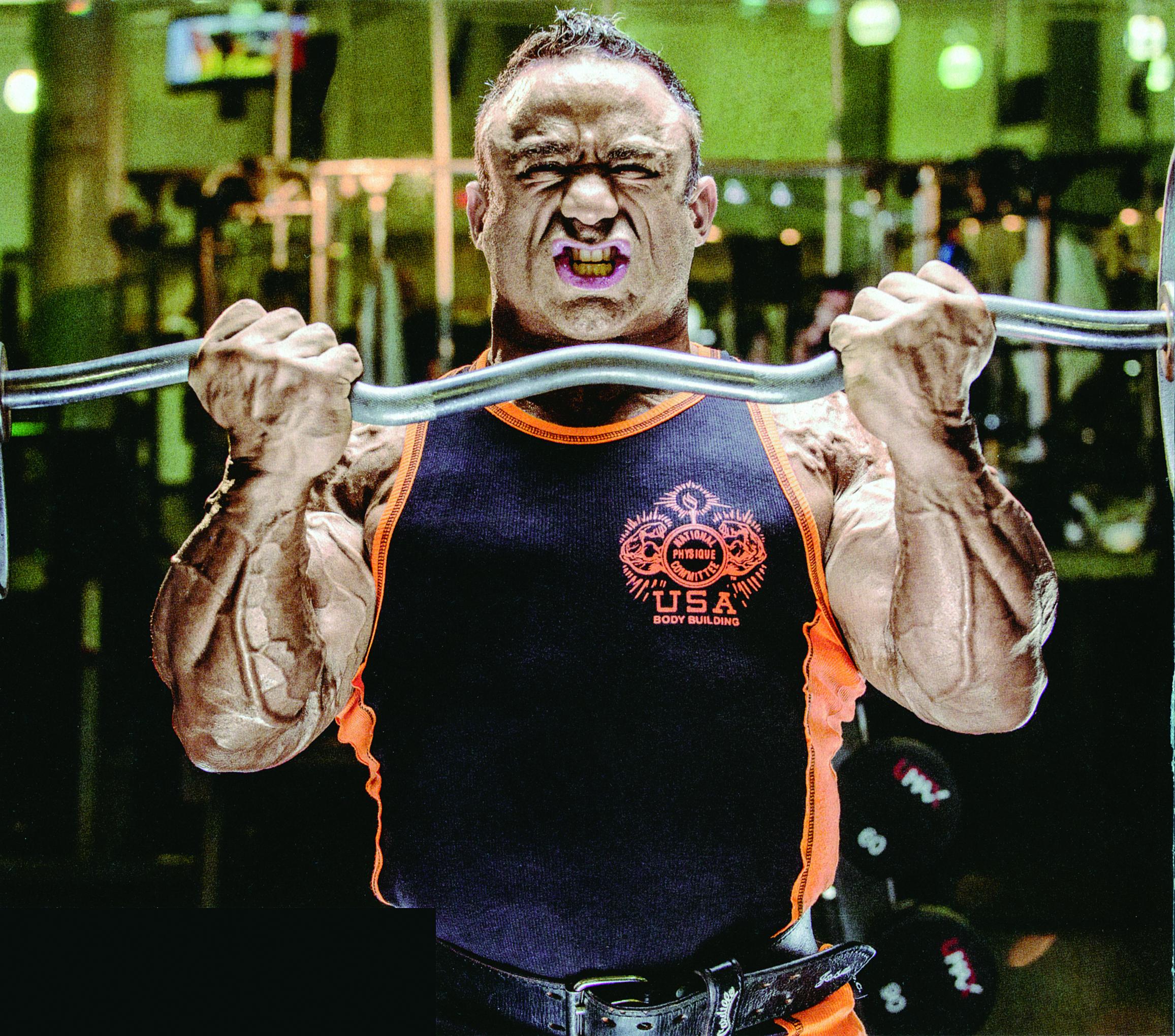 foto bicepsový zdvih