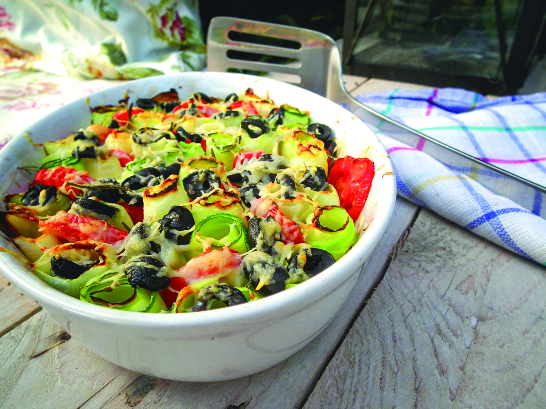 foto recept cuketa s olivami