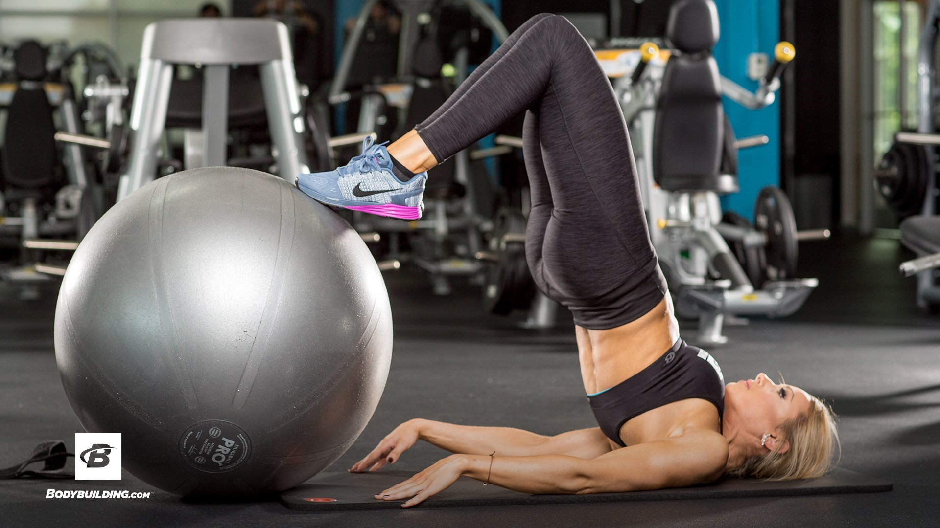 foto tréning zadok a stehná
