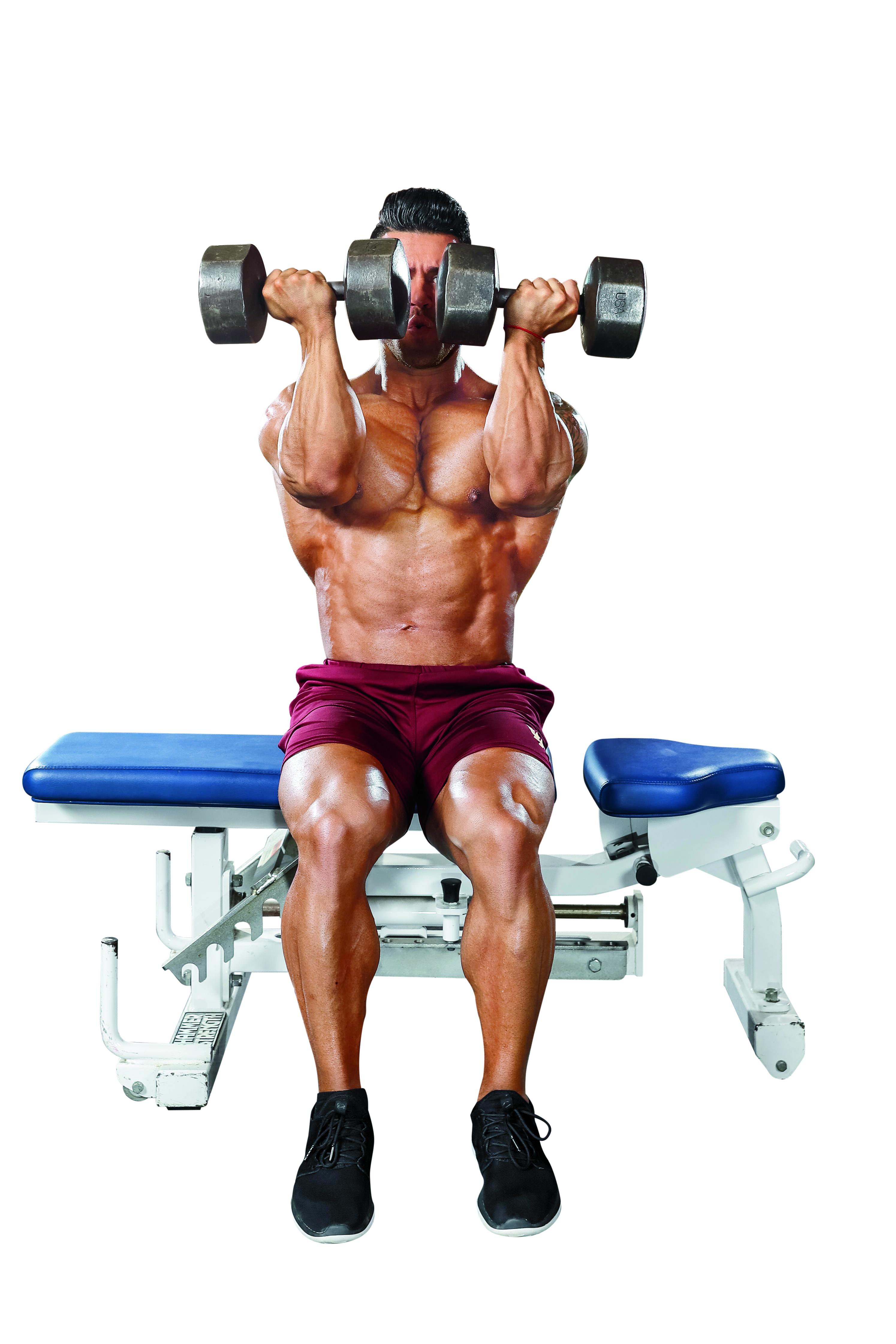 foto trénink ramena