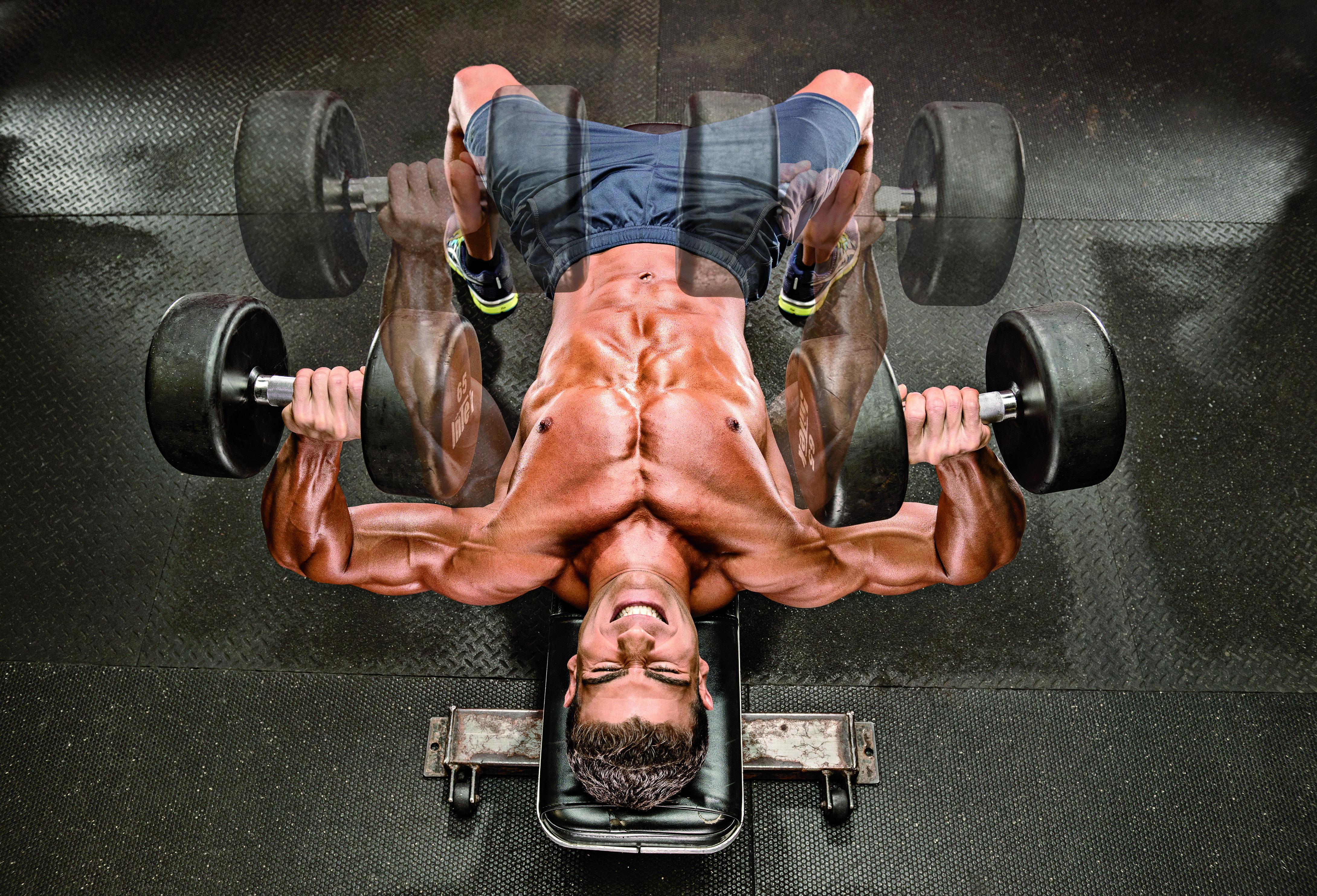 trénink na zvětšování hrudníku