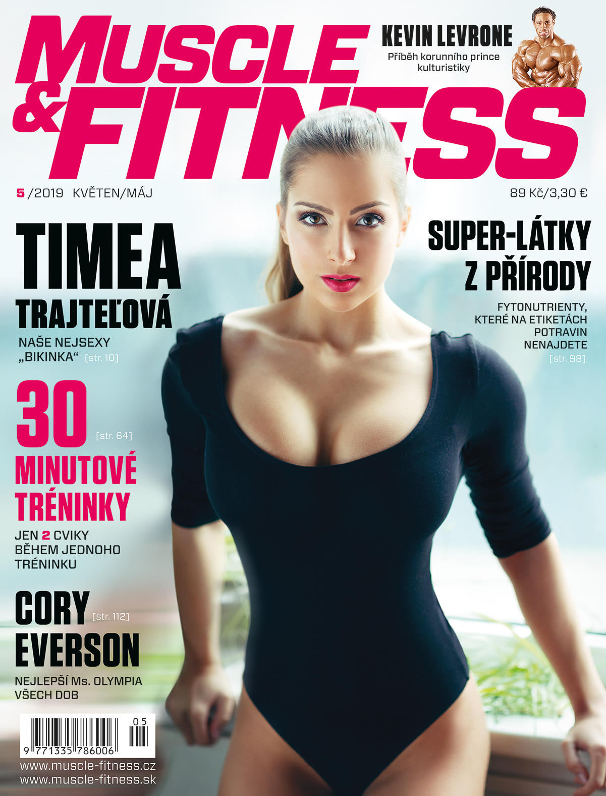 titulka MUSCLE&FITNESS
