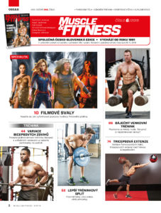 Obsah MUSCLE&FITNESS 6/2019