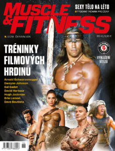 Titulka MUSCLE&FITNESS 6/2019