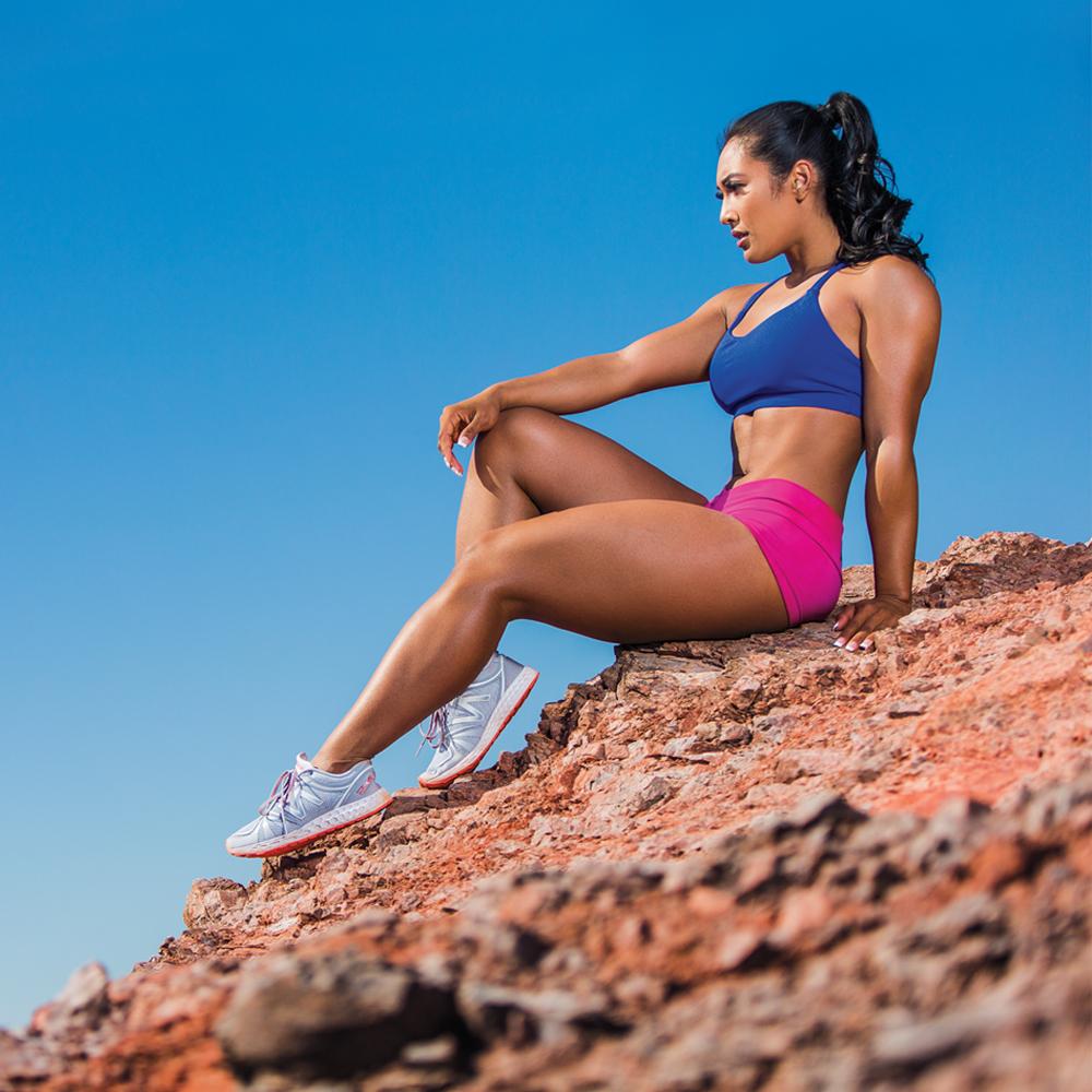 Modelka Genevieve Ava a Trénink pro ženy - tabata pro celé tělo