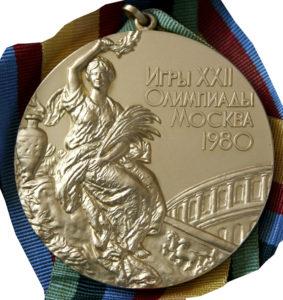 Medaile z OH 1980