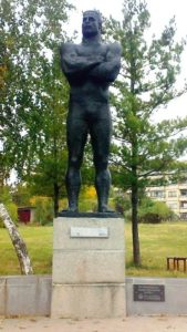 socha Nikola Petrov