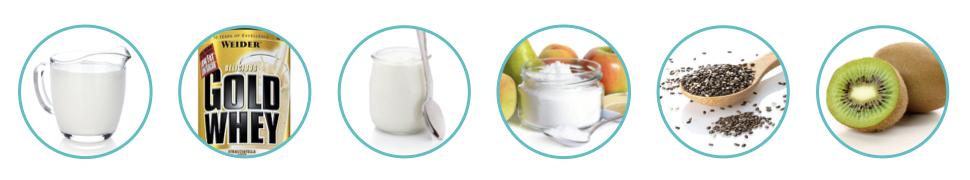 WEIDER proteinove nanuky ingrediencie