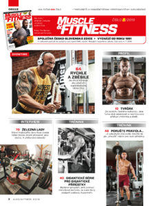 Muscle and Fitness 8 2019 obsah