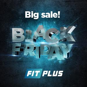 Najväčšie zľavy BLACK FRIDAY FITNESS tovar doplnky vyzivy stroje na cvičenie FITPLUS