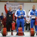 Medailové trio v absolútnom poradí: Foriš, Lederleitner, Halač