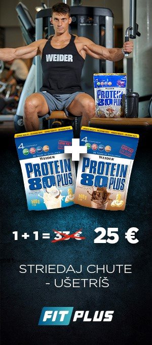 Weider Protein 80 plus 1+1