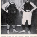 Cca 18letý GÖRNER (vpravo) a Karl SWOBODA