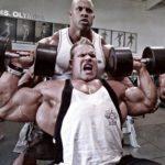 JAY CUTLER (cvičí) a VICTOR MARTINEZ