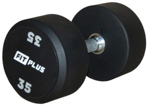 muscle-fitness.sk,sprievodca pre zaciatocnikov,Jednorucna pevna cinka polyuretan fitplus_35kg
