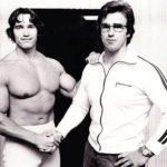 Kainrath a Arnold, bývalí spraningpartneři a celoživotní přátelé (1978)