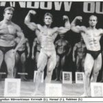SANDOW 1980 (zleva): 2. Kainrath, 1. P. Hensel, 3. M. Rolinec