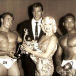 Mickey a Jayne jako čestní hosté NABBA Mr. Universe 1959
