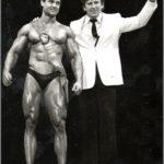 Dr. Luděk Nosek a vítěz GP Sandow 1983 Libor Minařík