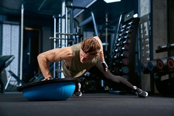 drepy, rast svalov, svaly, trening, komplexne cviky, bosu