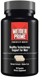 weider prime, testosteron, hormony, svaly, rast svalov