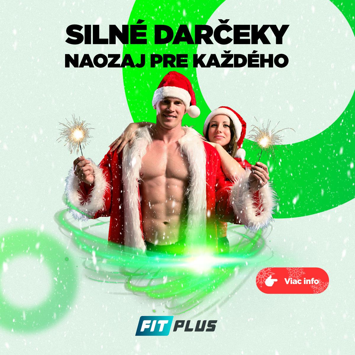 Fitness Vianocne darceky FIT PLUS