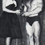 Yorton v roce 1963 jako vítěz Mr. Los Angeles