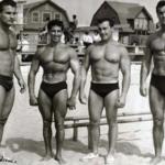 Yorton na Muscle Beach v roce 1963