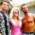Yorton s manželkou Vicky a Arnoldem