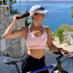 Kristína Juricová zostáva v pohybe aj počas dovolenky.